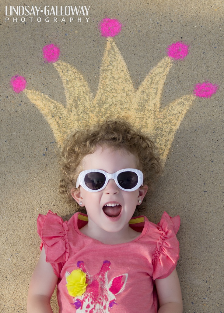 Chalk Fun! | Lindsay Galloway Photography Blog #sidewalkchalk