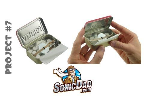 Altoids Surprise Noise Maker - SonicDad  Project #7
