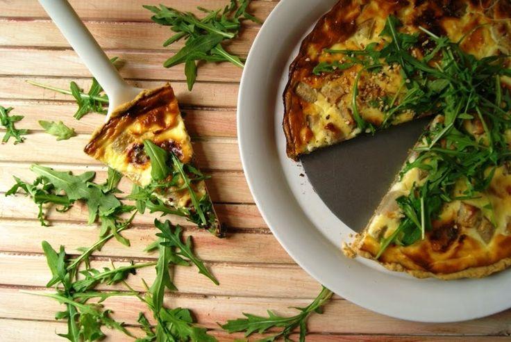 Wielki apetyt : Wytrawna tarta z gruszką i gorgonzolą