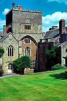 Buckland Abbey, Yelverton, Devon, UK was originally a Cistercian Abbey founded in 1278 by Amicia Countess of Devon