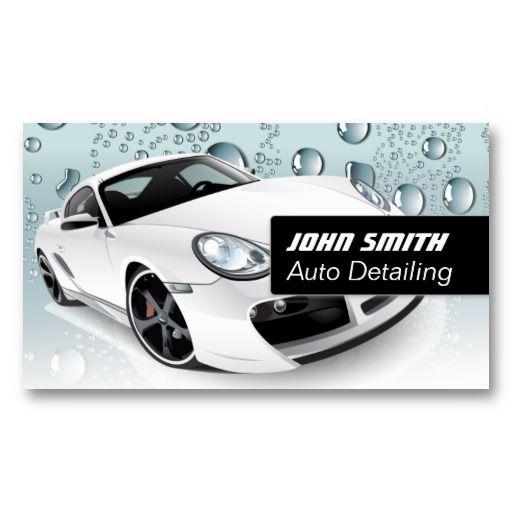 30 best auto detailing business cards images on pinterest auto water drops auto detailingcar wash business card colourmoves Images
