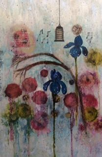 The Music Box by Mandy Emerson at Art Box SOLD