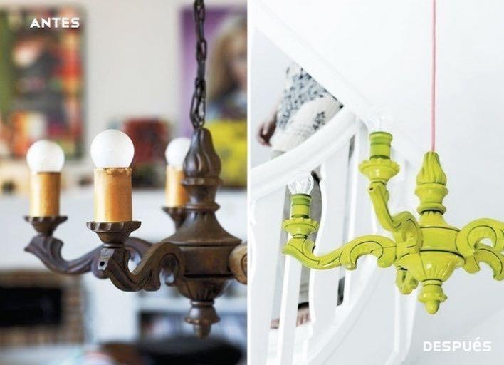 19 best before after images on pinterest refurbished - Como pintar muebles antiguos ...