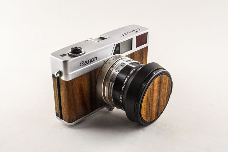My Canon Canonet - In Santo Rosewood