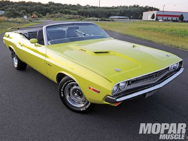 1971 Dodge Challenger Convertible Maintenance/restoration of old/vintage vehicles: the material for new cogs/casters/gears/pads could be cast polyamide which I (Cast polyamide) can produce. My contact: tatjana.alic@windowslive.com
