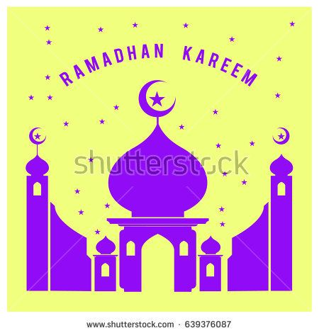 Vector illustration for Ramadan with colorful elements and mosque. Islamic Celebration Poster and advertising. Logo and Icon Ramadan Celebration.