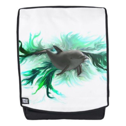 #Dolphin Baby Backpack - #travel #accessories