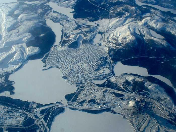 Where I live... Labrador City, NL, Canada