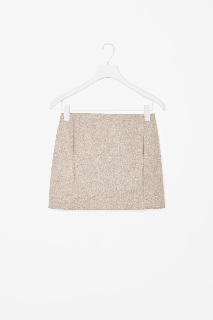 COS | Short wool skirt