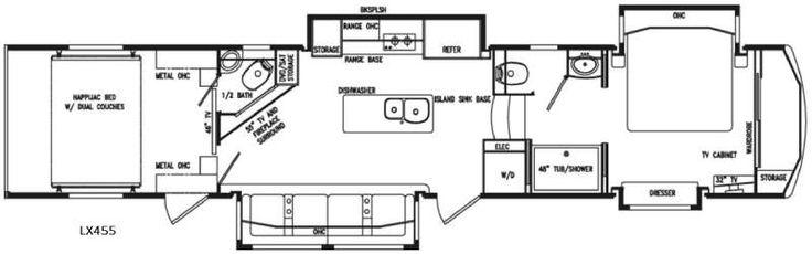 New 2017 DRV Luxury Suites FullHouse LX455 Toy Hauler Fifth Wheel at Plaza RV Inc. | Bondurant, IA | #2218