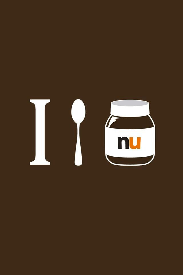 Nutella iphone wallpaper