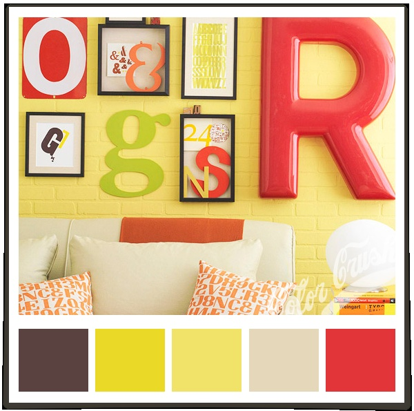 Brown Yellow Tan Red Future Home Colors Kitchen