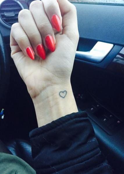 Tattoo-Ideen Fuß zitiert Herz 64+ Trendy Ideas