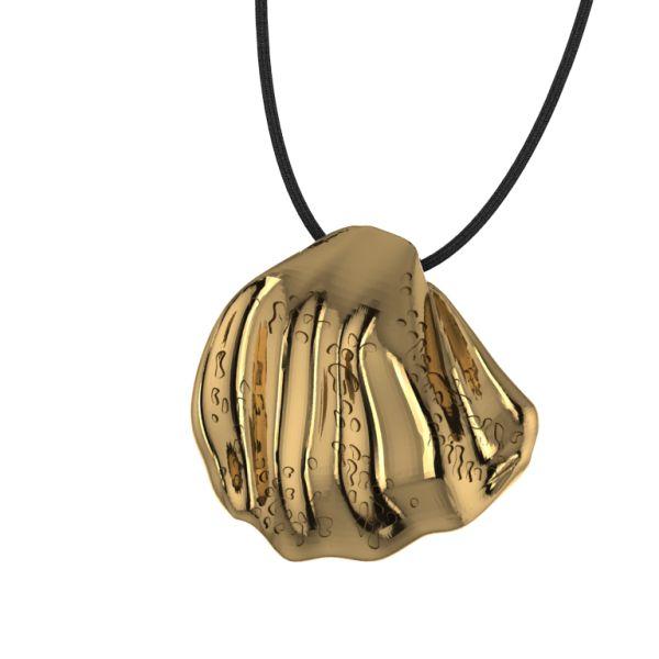 Shell gold pendant      #jewellery #fashion #accessories #greekdesigners #jewelry #necklace #pendant #style www.gpjewellery.com