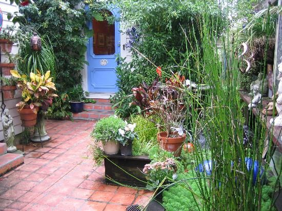 New orleans courtyard louisiana home is where your for French courtyard garden ideas