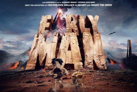"""Early Man"" - from Nick Park is a stop-frame feature film that sees Park going behind the camera for the first time since Wallace & Gromit: The Curse Of The Were-Rabbit. Set at the dawn of time, when dinosaurs and woolly mammoths roamed the earth, Early Man tells the story of how one plucky caveman unites his tribe against a mighty enemy and saves the day, while also inadvertently inventing the game of football."