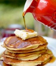 Made with coconut flour, these fluffy and filling pancakes are so delicious, no one will ever suspect they are grain and dairy free!