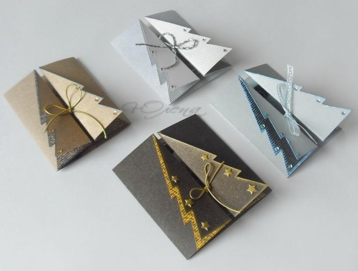 Креативные открытки своими руками на новый год