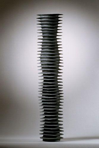 Sandra Davolio  h: 75 cm x dia: 19 cm. - 2004