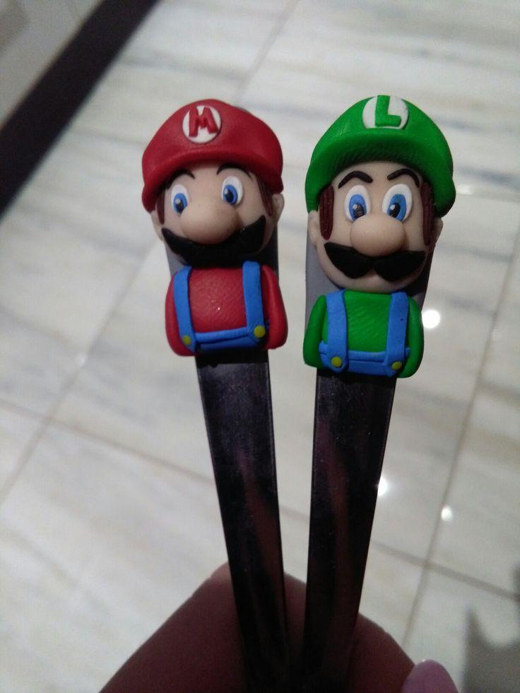 polymer Mario & Luigi