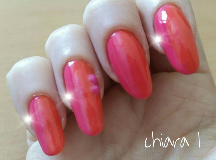 Orange and Pink fluo