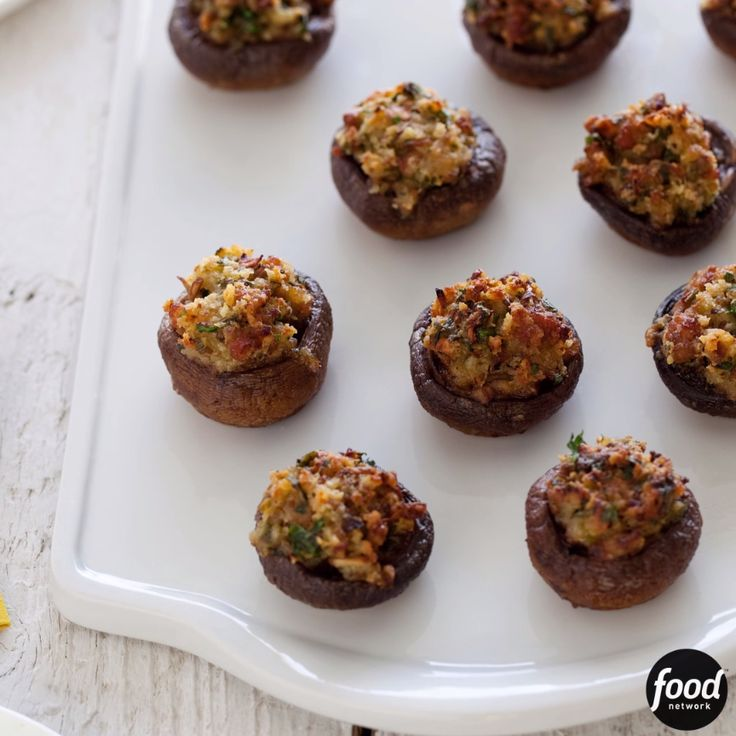 Ina's mouthwatering stuffed mushrooms are filled with sweet Italian sausage and a little bit of cheese. They are the ultimate savory appetizer!