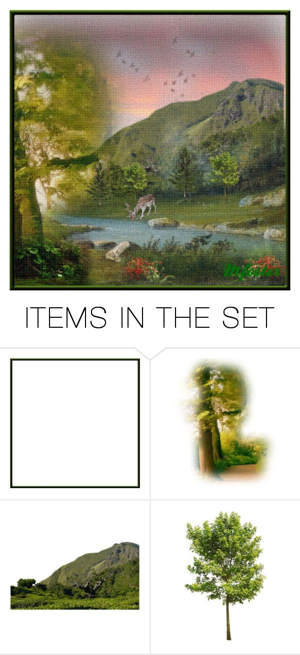 """""""As the Deer Pants for the Water"""" by mfoster07 ❤ liked on Polyvore featuring art"""
