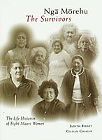 Nga Morehu - The Survivors , by Judith Binney  Gillian Chaplin - This book is the life history of eight Maori women. They have all been brought up in small rural communities - communities associated with the Ringatu faith, a distinct Maori religious movement founded in the late nineteenth century by the visionary leader Te Kooti Arikirangi Te Turuki. It is also the first book in which different Maori women speak, in their own words, about the changing community circumstances of their lives.