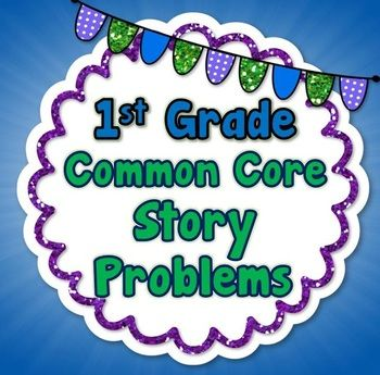 Common Core Math Story (Word) Problems BUNDLE, 1st Grade C
