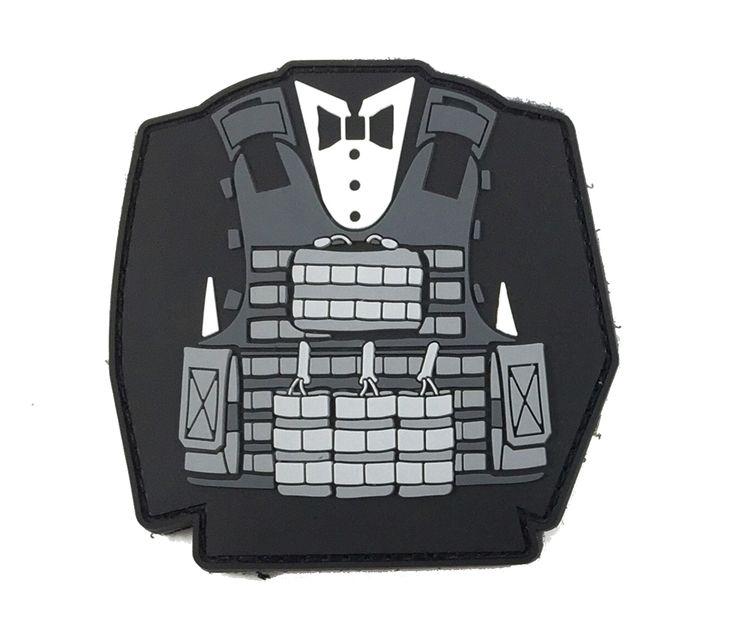 Tactical Tux - Morale Patch Dress for success