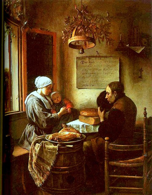 Steen, Grace Before a Meal 1660