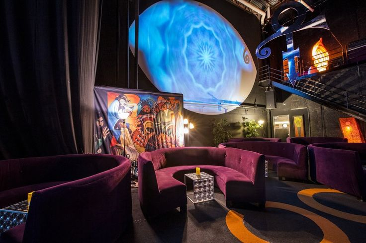 VIP area in The NPG Music Club room at Paisley Park.