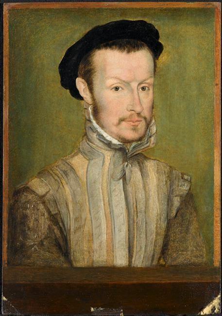 Portrait d'Hercule-François de France, duc d'Alençon (1555-1584). ... Corneille de Lyon (vers 1500-vers 1575)