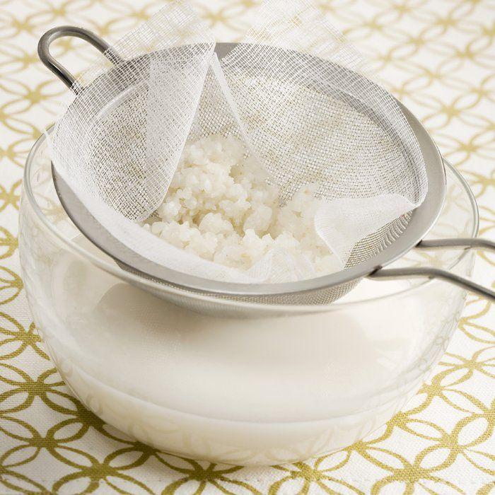 Lait de riz maison