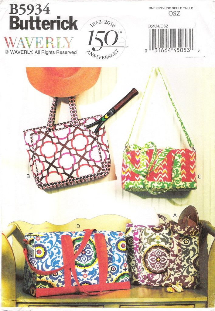 88 besten DIY Handbags, Bags and Purses Sewing Patterns Bilder auf ...