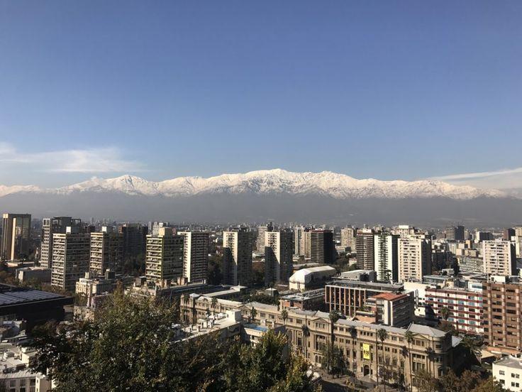 Vista do Cerro Santa Lúcia, Santiago – Conhecendo a Capital Chilena