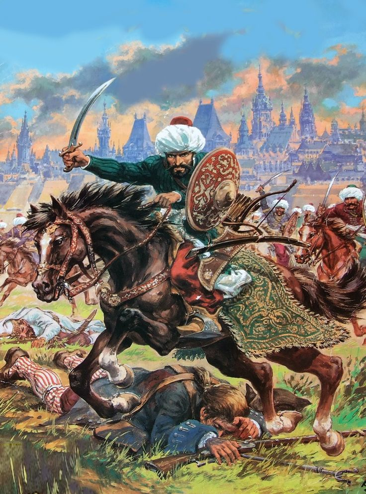 Charge of the Ottoman cavalry, Ottoman-Habsburg War