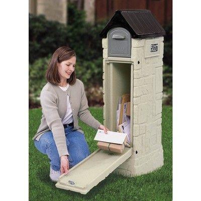 Step2 MailMaster StoreMore Mailbox, Grey