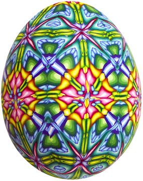 spring egg (veneered)