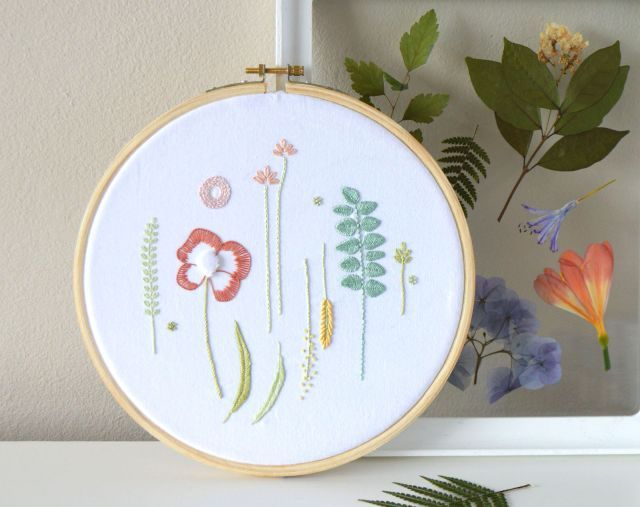 Kelly Fletcher S Newsletter January 2019 Happy New Year And A New Embroidery Pattern To Ring It In A L Embroidery Patterns Color Of The Year Embroidered