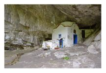 Cave Church on Mount Olympus, the highest mountain in Greece: http://www.greece-travel-secrets.com/Mount-Olympus.html