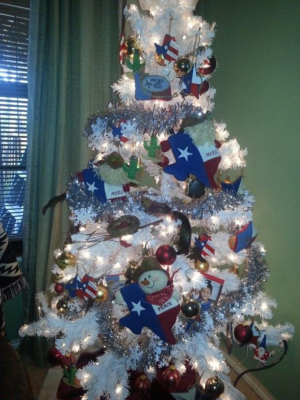 Beautiful! Texas Christmas tree \