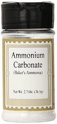 Lorann Oils Baking Ammonia Powder Ammonium Carbonate, 2.7 OZ, New, Free Shipping