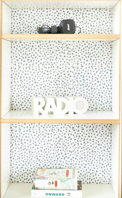 Gray Speckle – Chasing Paper  Removable wallpaper for $30.00 a roll… am I dreaming?