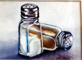 salt 'n pepper by Gail Hamilton waterpaintster@gmail.comGail Hamilton