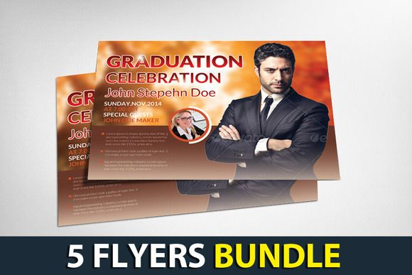 5 Corporate Business Flyers Bundle by Business Templates on Creative Market