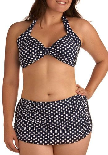 suits Vintage curvy women bathing