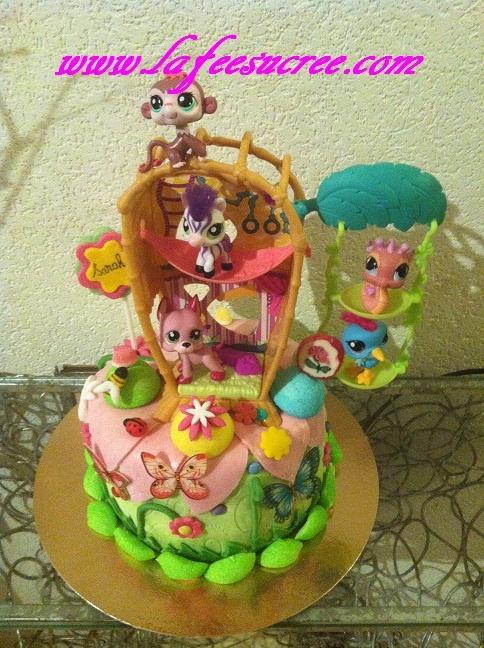 Cake pet shop  Gâteau pet shop