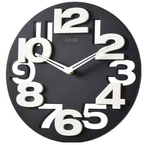 1000 id es sur le th me horloges murales de cuisine sur pinterest horloges - Pendule cuisine moderne ...