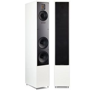 "Martin Logan Motion 40 Speakers. The elegant Motion 40 speaker features our advanced resolution Folded Motion tweeter, a 5-1/2"" aluminum cone midrange and two 6-1/2"" aluminum cone bass woofers. www.needledoctor.com"